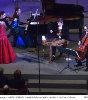 Trio Fontane & Nicolas Senn 28.03.2018