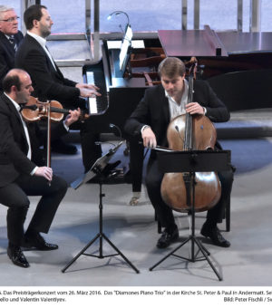 Diamones Piano Trio 26.03.2016