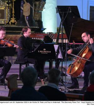 The Barvinsky Piano Trio   1.G-Percussions Trio 26.09.2020