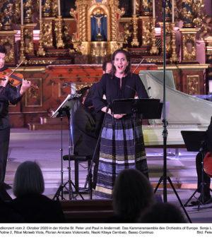 Kammerensemble des Orchestra of Europe 02.10.2020